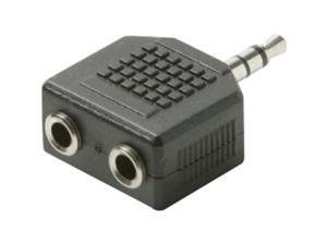 Steren BL-265-454BK 3.5mm Stereo Headphone Splitter