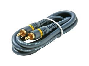 STEREN Model 254-120BL 12 ft. RCA Home Theater Audio Cable M-M
