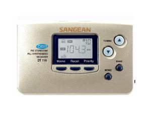 Sangean Portable AM/FM Stereo DT110GC