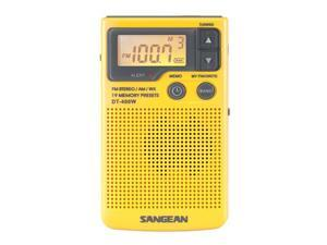 Sangean Digital AM/FM/Weather Alert Pocket Radio DT-400W