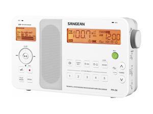 Sangean FM-Stereo/AM Radio with MP3 Recorder & MP3/WMA Player PR-D8