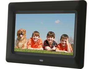 "Aluratek ADPF07SF 7"" 800 x 600 Digital Photo Frame with Auto Slideshow"