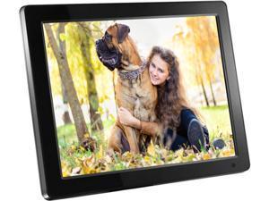 aluratek admpf512f 12 800 x 600 digital photo frame - Electronic Picture Frames