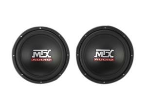 "MTX TNE212D Dual 12"" 1200W Sealed Enclosured Subwoofer"