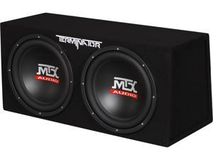 "MTX Dual 12"" 1200W Sealed Enclosured Subwoofer"