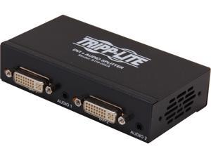 Tripp Lite B116-002A DVI Single Link Video / Audio Splitter/Booster, 2-Port