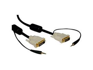 Tripp Lite  P560-010-A  10 ft.  DVI Dual Link TMDS + Audio Cable (DVI-D M/M, 3.5mm M/M)