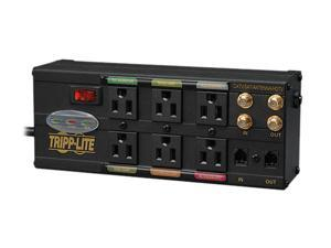 Tripp Lite AVBAR6 6-Outlet Ultimate Protection Isobar Audio/Video Surge Suppressor