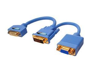Gefen Model ADADVI2DVIVGA Blue DVI to DVI and VGA
