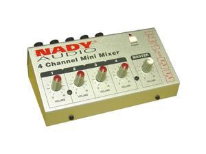 Nady MM-141 4-Channel Mini Mixer