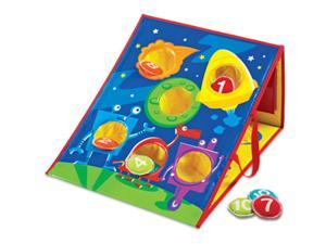 LEARNING RESOURCES LER1047 Smart Toss Bean Bag Tossing Game