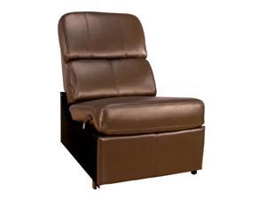 Bell'O HTS103BN Brown No-Arm Reclining Chair
