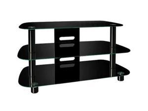 "Bello PVS-4215HG Up to 46"" Black TV Stand"