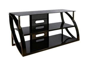 "Bell'O AVS-4601HG Up to 56"" Black TV Stand"