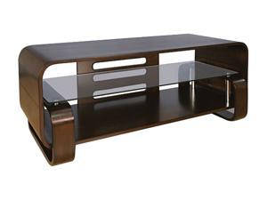 "Bell'O WAVS341 Up to 55"" Espresso Bent Wood Audio/Video System"
