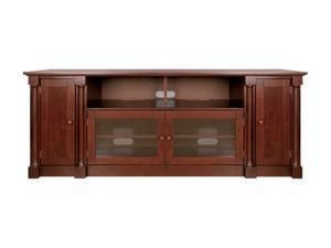 "Bell'O PR35 Up to 73"" Mahogany Finish Audio Video Cabinet"