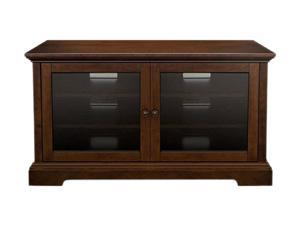 "Bell'O WAVS331 Up to 46"" Medium Espresso No Tools Assembly Audio/Video Cabinet"