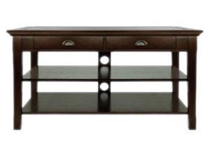 "Bell'O OA351 Up to 52"" Espresso AV Table"