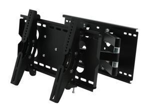 """BYTECC BT-2337TSX-BK Black 23"""" - 37"""" Full Motion 2-Arm Extended Wall Mount"""