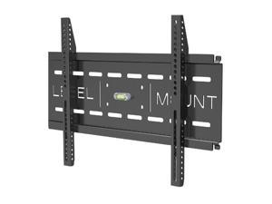 "Level Mount DC50LP Matte Black Powder-Coat Finish 26"" - 57"" Fixed Flat Panel Wall Mount"