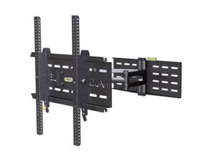 """Level Mount DC65MC 37""""-85"""" Full Motion TV Wall Mount LED & LCD HDTV, up to VESA 75, 100, 200,400, 600 and 800 max load 150 lbs max load 121 lbs for Samsung, Vizio, Sony, Panasonic, LG and Toshiba TV"""