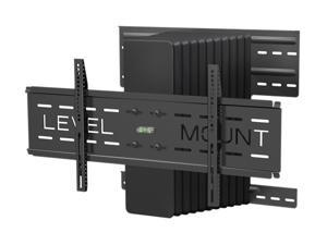 "Level Mount DC65MCL Black 37"" - 85"" Motorized Full Motion Flat Panel Wall Mount"