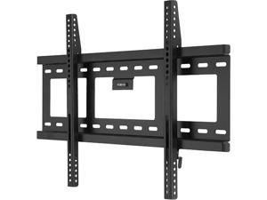 "Level Mount HE600F Matte Black 26"" - 57"" Fixed TV Wall Mount"