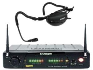 Samson AirLine 77 UHF TD Headset Wireless QE Microphone System - Channel N4, 644.750 MH