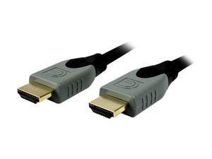 Comprehensive HD-HD-6EST 6 ft. Black Connector Type 1: HDMI Male  Connector Type 2: HDMI Male High Speed HDMI® Cable M-M