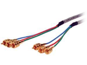 Comprehensive 3RCA-3RCA-3HR 3 ft. HR Pro Series 3 RCA plugs each end Component Video Cable
