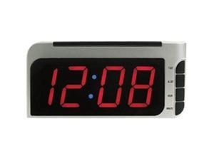 Elgin 4537E Bedside Alarm Clock with Auto-Set