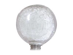 ALLSOP Solar-Powered Clear Globe Garden Art Light