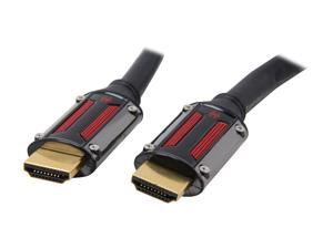 Spider S-HDMI-0003F 3 ft. Black S-series Ultra High Speed HDMI with Ethernet