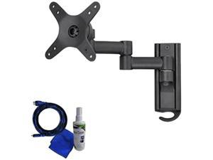 """Creative Concept CCR28BPK 13""""-37"""" Articulating TV wall mount LED & LCD HDTV up to VESA 200x200 max load 55 lbs Compatible with Samsung, Vizio, Sony, Panasonic, LG and Toshiba TV"""