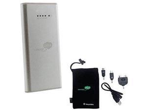Concept Green Silver 2000 mAh Battery Portable Charger CG2000S
