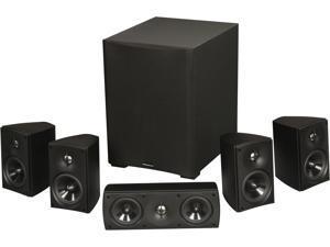 MartinLogan MLT-2 5.1 CH Premium Home Theater Speaker System Black System
