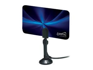 Supersonic SC-607 Flat Digital HDTV Indoor Antenna with VHF and UHF Frequency Range