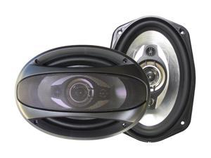 "Supersonic SC-6900 6"" x 9"" 1200 Watts Peak Power 4-Way Car Speaker"