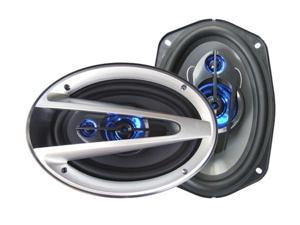 "Supersonic SC-6901 6"" x 9"" 1200 Watts Peak Power 3-Way Car Speaker"