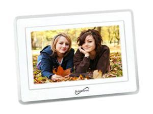 "SUPERSONIC SC-7001 7"" Digital Photo Frame with USB and SD Inputs"