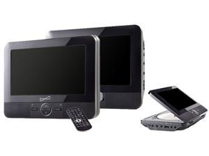 SuperSonic SC-198 Dual Screen DVD Player