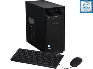 Acer Desktop Computer Aspire T ATC-710-UR51 Intel Core i5 6th Gen 6400 (2.7 GHz) 8 GB DDR3L 1 TB HDD Intel HD Graphics 530 Windows 10 Pro 64-Bit