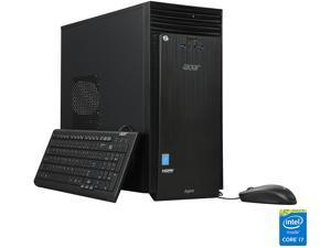 Acer Desktop PC Aspire TC ATC-705-UC52-R Intel Core i7 4th Gen 4790 (3.6 GHz) 12 GB DDR3 1 TB HDD Intel HD Graphics 4600 Windows 10 Home 64-Bit