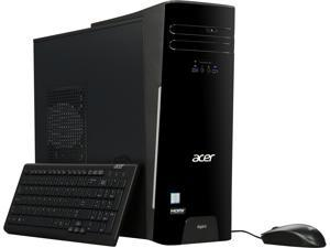 Acer Desktop Computer Aspire ATC-780-UR12 Intel Core i7 6th Gen 6700 (3.4 GHz) 16 GB DDR4 512 GB SSD Intel HD Graphics 530 Windows 10 Home 64-Bit