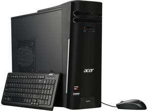 Acer Desktop Computer Aspire ATC-280-UR11 A10-Series APU A10-7800 (3.50 GHz) 12 GB DDR3 2 TB HDD AMD Radeon R7 Windows 10 Home 64-Bit