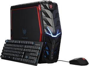 Acer Desktop Computer Predator G1-710-70002 Intel Core i7 6th Gen 6700 (3.4 GHz) 32 GB DDR4 2 TB HDD 512 GB M.2 SSD NVIDIA GeForce GTX 1080 Windows 10 Home 64-Bit