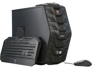 Acer Desktop Computer Predator AG3-710-UR14 Intel Core i7 6th Gen 6700 (3.4 GHz) 32 GB DDR4 1 TB HDD NVIDIA GeForce GTX 1070 Windows 10 Home 64-Bit