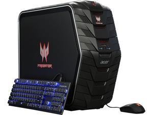 Acer Desktop Computer Predator AG6-710-70017 Intel Core i7 6th Gen 6700K (4.00 GHz) 16 GB DDR4 1 TB HDD 128 GB SSD NVIDIA GeForce GTX 1060 Windows 10 Home 64-Bit