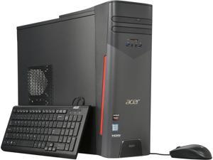 Acer Desktop Computer Aspire T AT3-715A-UR11 Intel Core i7 6th Gen 6700 (3.4 GHz) 8 GB DDR4 1 TB HDD AMD Radeon RX 480 Windows 10 Home