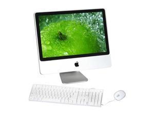 """Apple All-in-One iMac MA876LL/A Core 2 Duo 2.0 GHz 1 GB DDR2 250 GB HDD 20"""" Mac OS X 10.4 Tiger"""